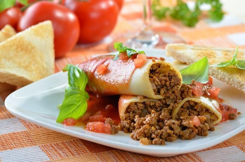 Cannelloni z mięsem mileonym /123RF/PICSEL