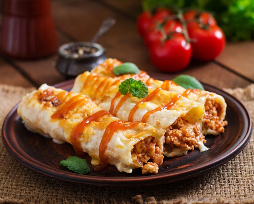 Cannelloni z mięsem /123RF/PICSEL