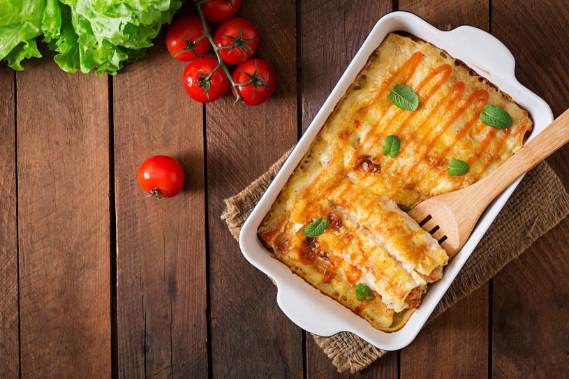 Cannelloni z warzywami /123RF/PICSEL
