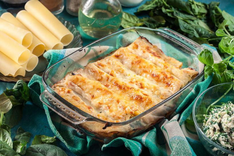 Cannelloni ze szpinakiem /123RF/PICSEL