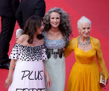 Cannes 2021: Nowa moda podbija świat. Gwiazdy przestały się farbować