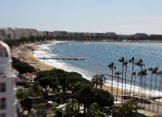 Cannes - cudowna plaża i doskonały program kulturalny /AFP