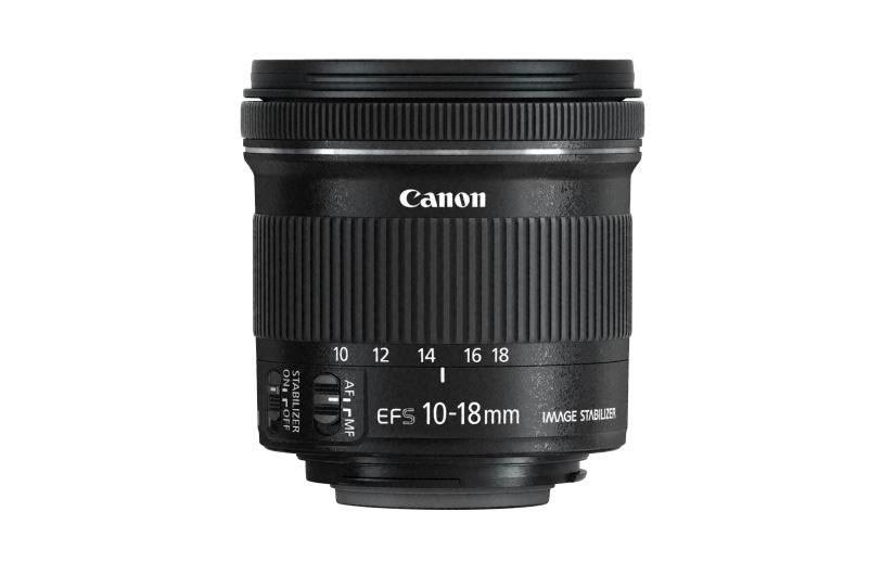 Canon EF-S 10-18mm f/4.5-5.6 IS STM /materiały prasowe