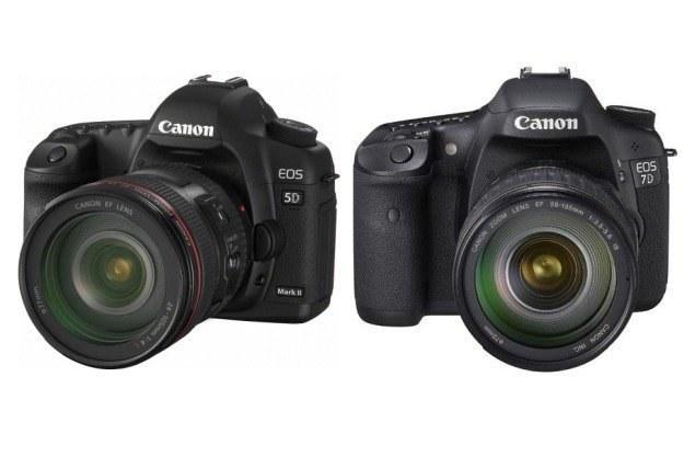 Canon EOS 5D Mark II i 7D /materiały prasowe