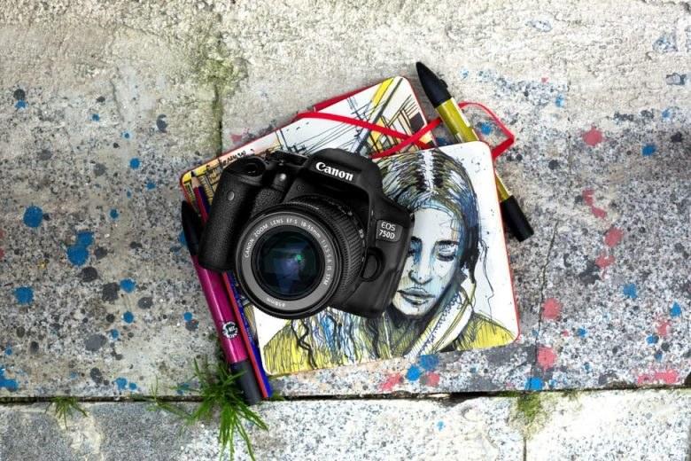 Canon EOS 760D /materiały prasowe