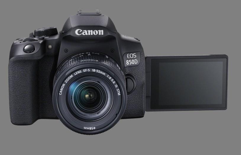 Canon EOS 850D /materiały prasowe