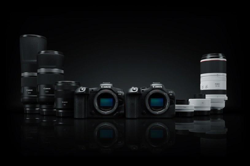 Canon EOS R5 i EOS R6 /materiały prasowe