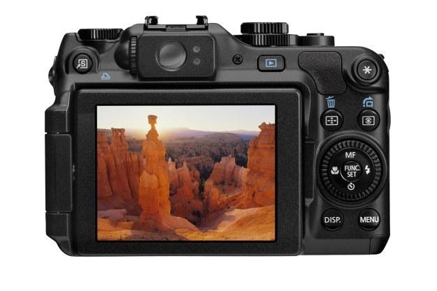 Canon G12 widziany od tyłu /materiały prasowe