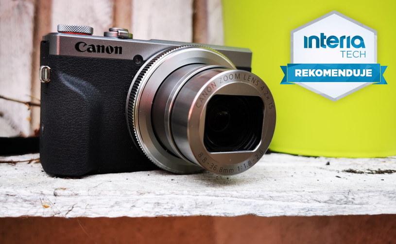 Canon PowerShot G7 X Mark III otrzymuje REKOMENDACJĘ serwisu Interia Tech /INTERIA.PL