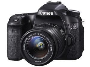 Canon prezentuje lustrzankę EOS 70D
