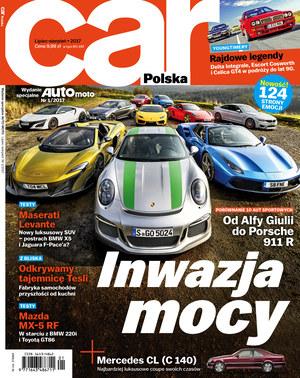 """Car Polska"" 1/2017 /Auto Moto"