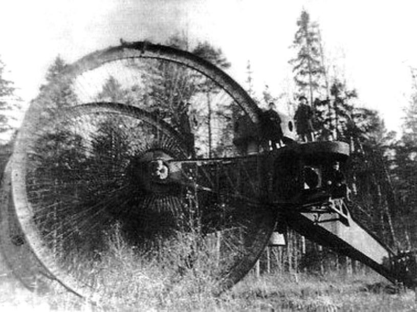 Car Tank był jedną z ciekawszych konstrukcji I wojny światowej. Nie wszedł do produkcji seryjnej /domena publiczna
