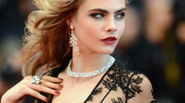 Cara Delevingne była jedną z gwiazd gali otwarcia tegorocznego festiwalu w Cannes - fot. Ian Gavan /Getty Images/Flash Press Media