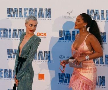 Cara Delevingne i Rihanna: Pojedynek na czerwonym dywanie