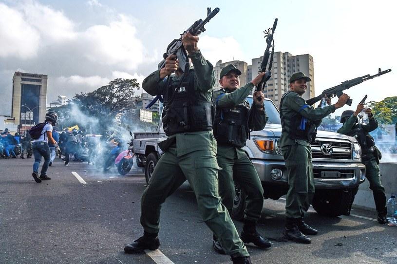 Caracas, 30 kwietnia 2019 r. /Federico Parra /East News