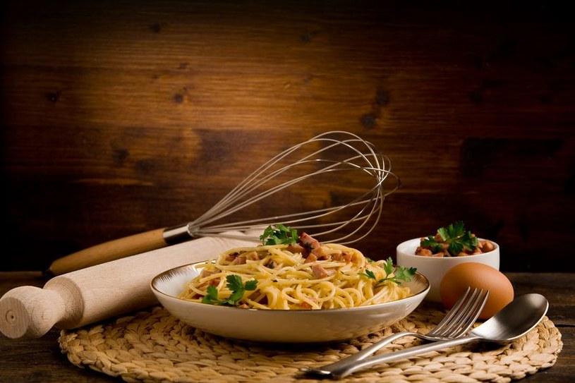 Carbonara to flagowe danie włoskich restauracji /123RF/PICSEL