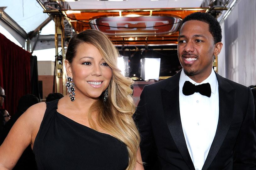 Carey i Cannon rozwiedli się jakiś czas temu /Kevork Djansezian /Getty Images
