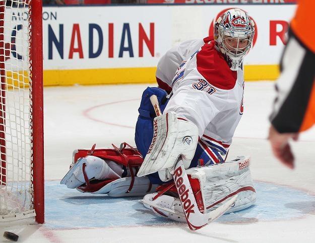 Carey Price zachował czyste konto w meczu z Toronto Maple Leafs /AFP