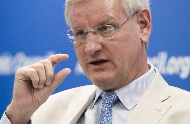 Carl Bildt /AFP