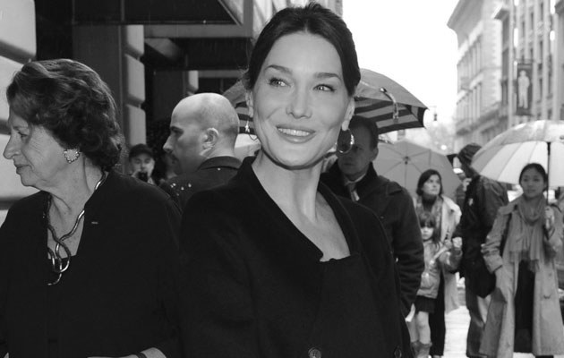 Carla Bruni, fot. Pool   /Getty Images/Flash Press Media