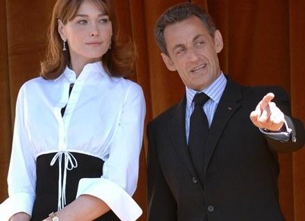 Carla Bruni i Nicolas Sarkozy /Getty Images/Flash Press Media