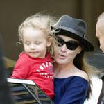 Carla Bruni z córeczką! Śliczna jak mama!