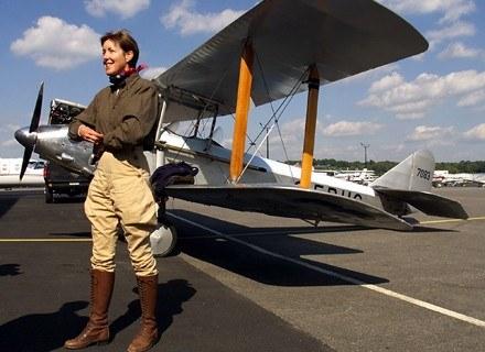 Carlene Medieta przeleciała Amerykę odtwarzając lot Amelii z 1927 r. /AFP