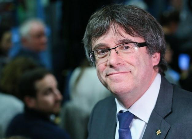 Carles Puigdemont /STEPHANIE LECOCQ  /PAP/EPA