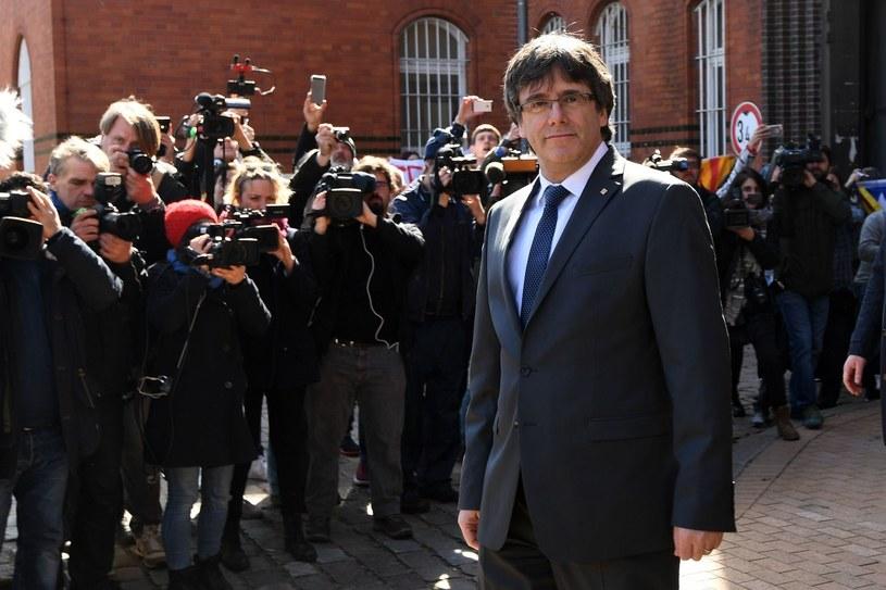 Carles Puigdemont /PATRIK STOLLARZ /AFP
