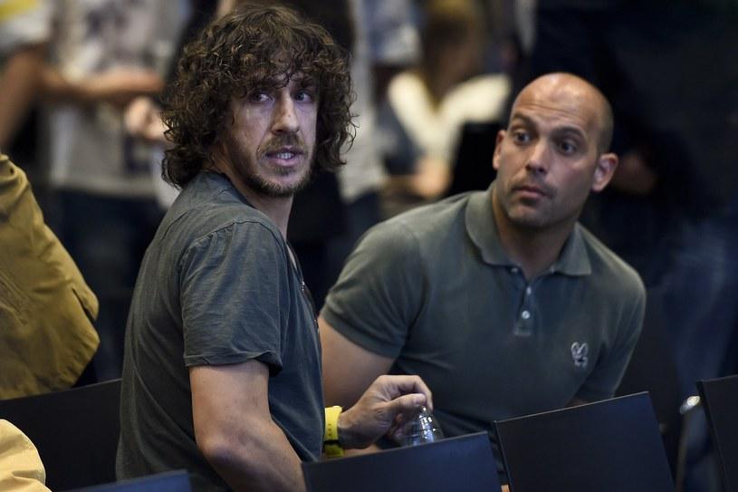 Carles Puyol i Gabri /AFP