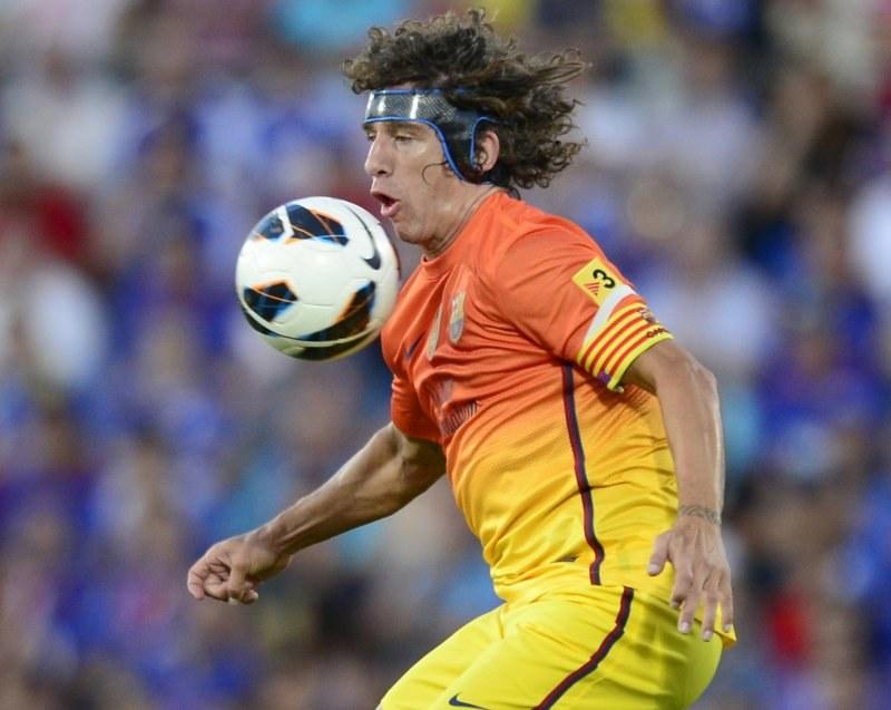 Carles Puyol, kapitan FC Barcelona /AFP