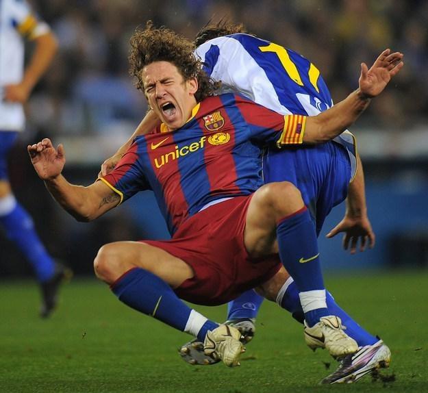 Carles Puyol /AFP