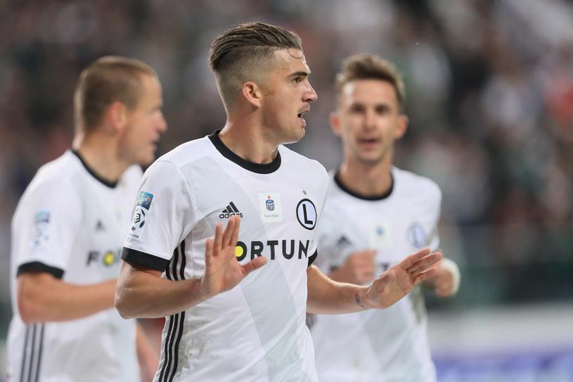 Carlitos strzelił dwa gole w meczu z Wisłą /Leszek Szymański   /PAP