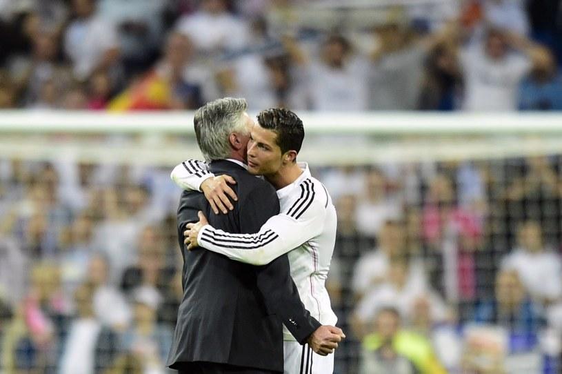 Carlo Ancelotti i Cristiano Ronaldo /AFP