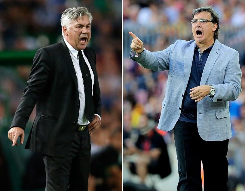 Carlo Ancelotti i Gerardo Martino /AFP