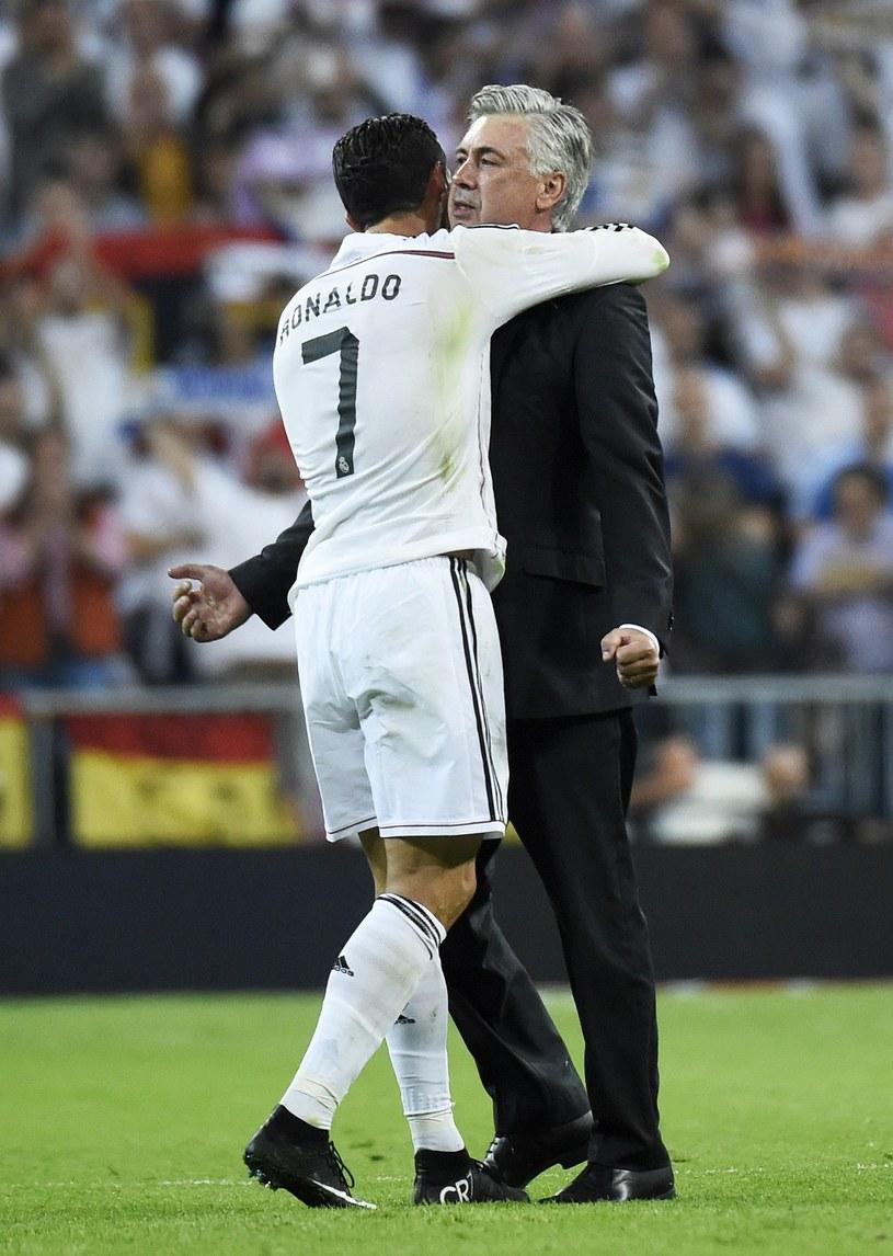 Carlo Ancelotti miał bardzo dobre relacje z zawodnikami Realu Madryt /AFP