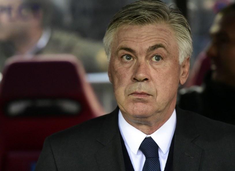 Carlo Ancelotti raczej nie zachowa posady trenera Realu Madryt /AFP