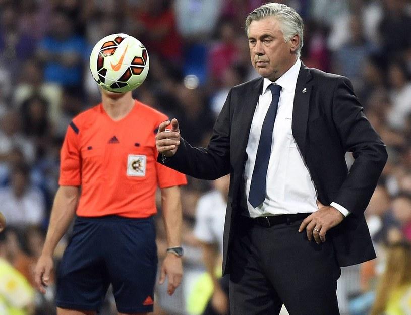 Carlo Ancelotti, trener Realu Madryt /AFP