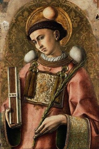 Carlo Crivelli, św. Szczepan (XV wiek), źródło: Wikimedia /