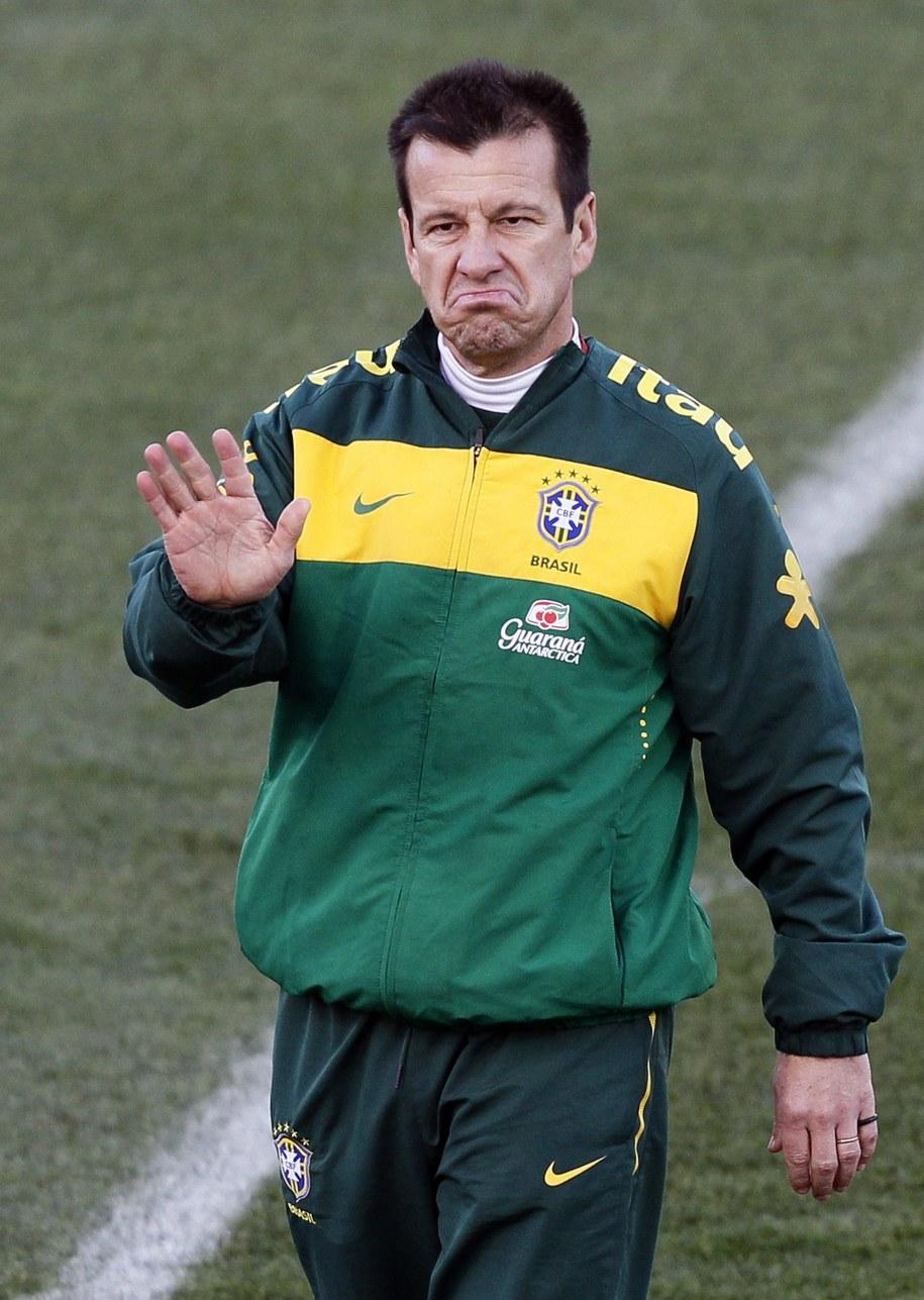 Carlos Dunga w 2010 roku /SERGEY DOLZHENKO /PAP/EPA
