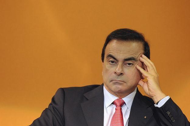 Carlos Ghosn nie zamierza podawać się do dymisji /AFP