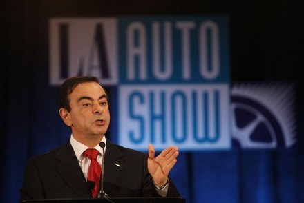 Carlos Ghosn (Renault-Nissan) /AFP