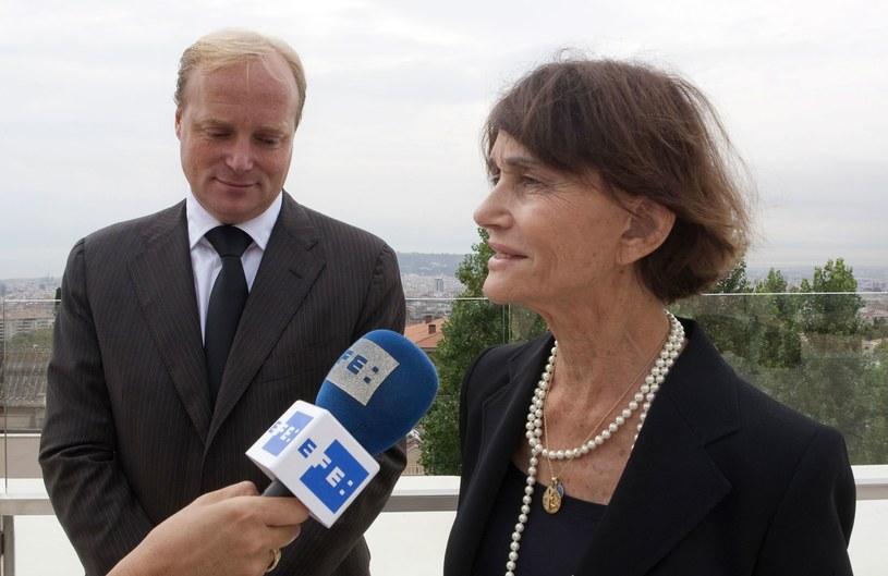 Carlos Javier de Borbon i Maria Teresa de Borbon Parma - zdjęcie z roku 2010 /TONI GARRIGA  /Agencja FORUM
