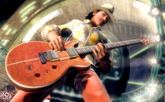 Carlos Santana gra wraz z Guitar Hero /Informacja prasowa