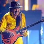 Carlos Santana zasnął za kierownicą