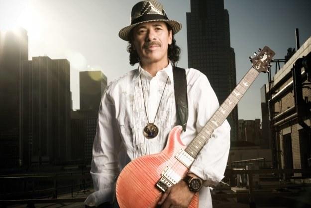 Carlos Santana znów zaprosił słynnych gości /Sony Music