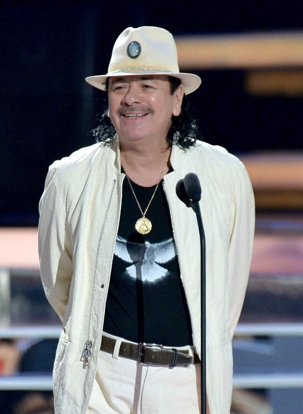 Carlos Santana /PAP/Newscom