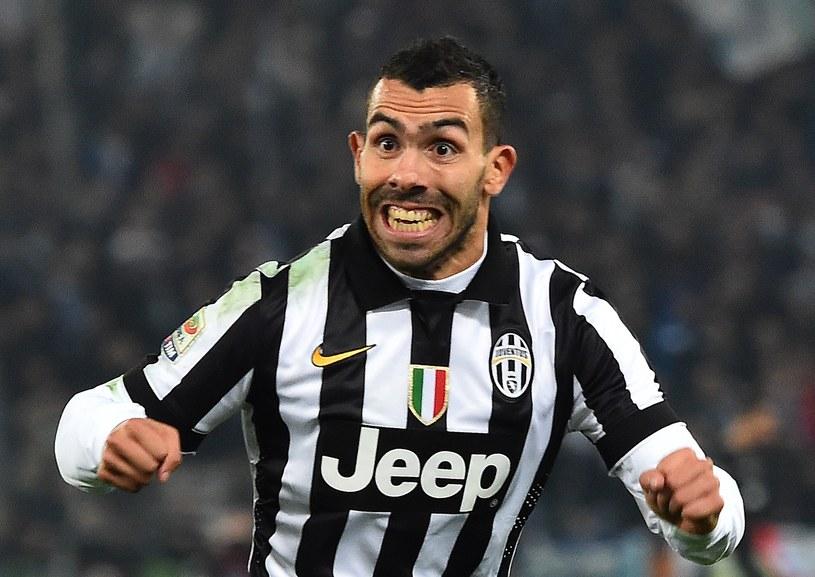 Carlos Tevez, napastnik Juventusu Turyn /AFP