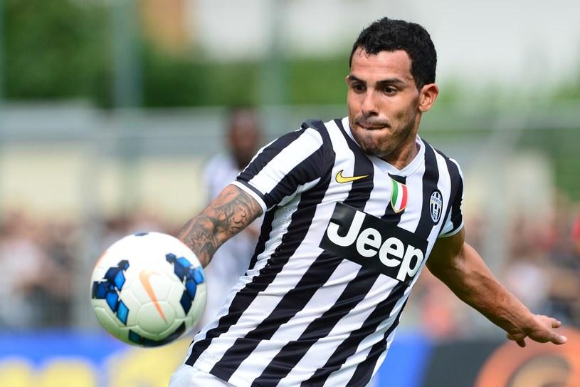 Carlos Tevez - nowa gwiazda Juventusu Turyn /AFP