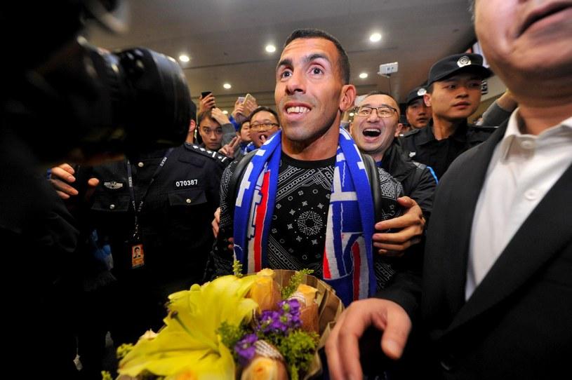 Carlos Tevez to jeden z najbardziej znanych piłkarzy w Shanghai Shenhua /AFP